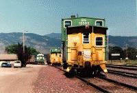 Caboose BN12582 at North Yard